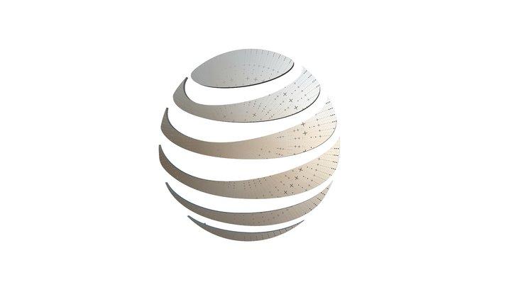 AT&T Foundry+ Globe 3D Model