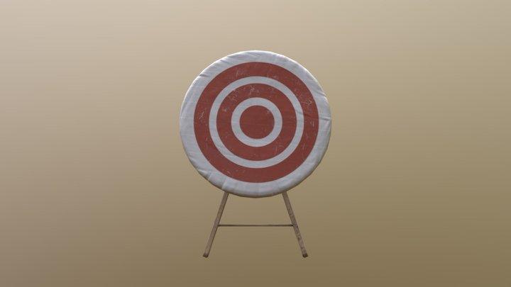 PBR Target 3D Model