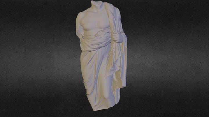 Draped Male Torso from Velanideza 3D Model