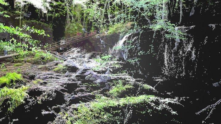 Choshi-Otaki Falls, Oirase Valley, Aomori 3D Model