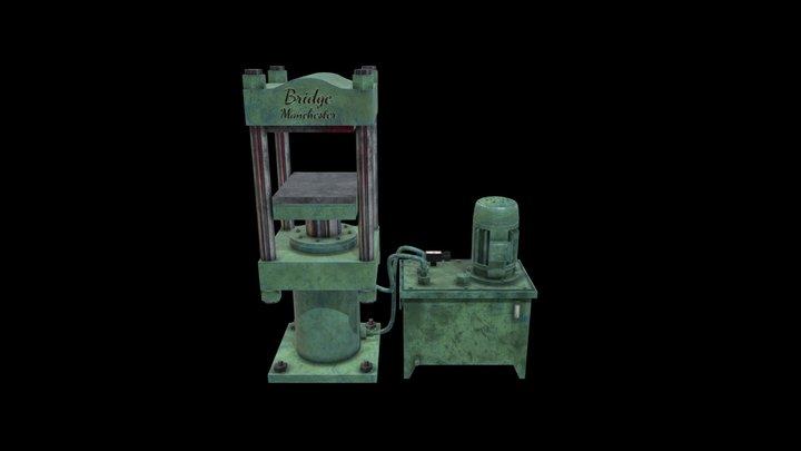 Hydraulic Press 3D Model