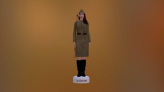 Mariya Berseneva 3D Model