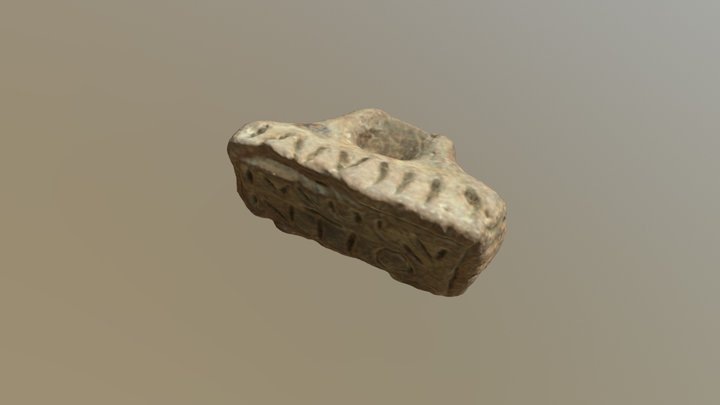 Clay Stamp 3D Model