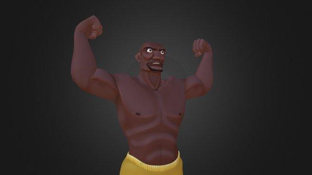 Terry Crews - Sorta 3D Model
