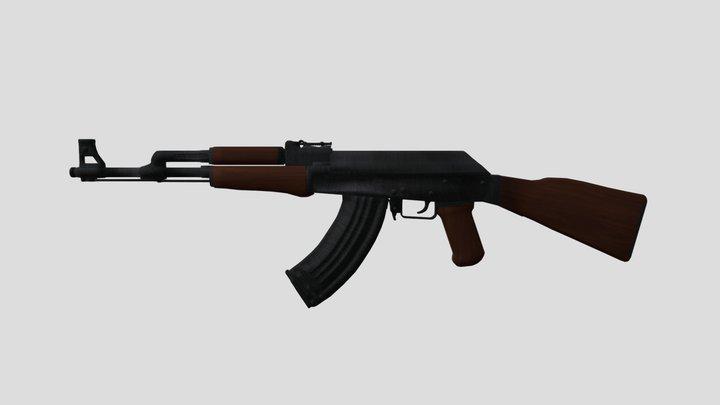 AK-47 3D Model