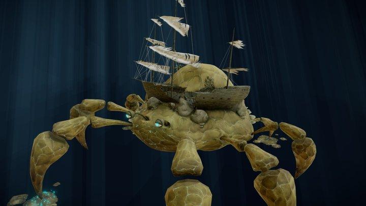 Crab Reef 3D Model