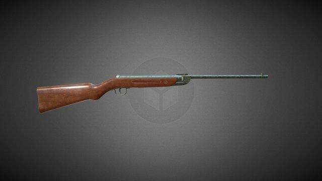 Airgun 3D Model