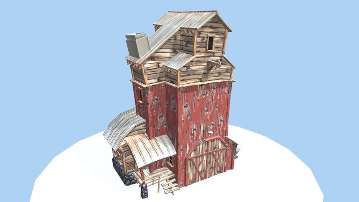 Grange - TP1 Création 3D en temps réel 3D Model