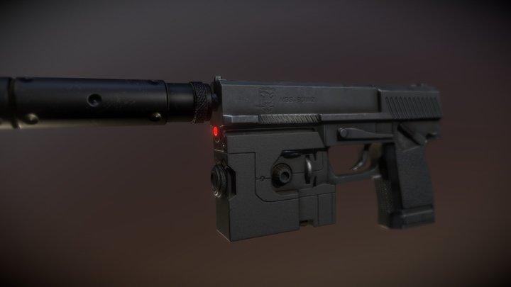 SOCOM - MGS Fan art 3D Model