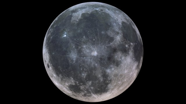 The Moon 3D Model