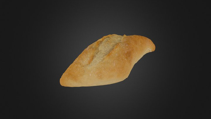 Bread - Throwback 2016 3D Model