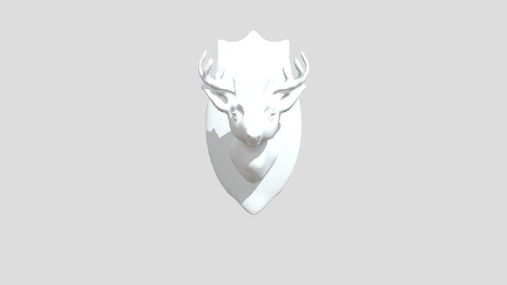 Vegan taxidermy (oh deer) 3D Model