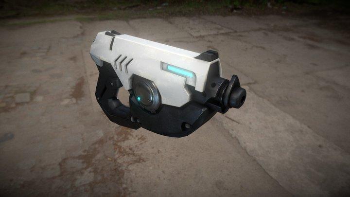 WIP Gun 3D Model