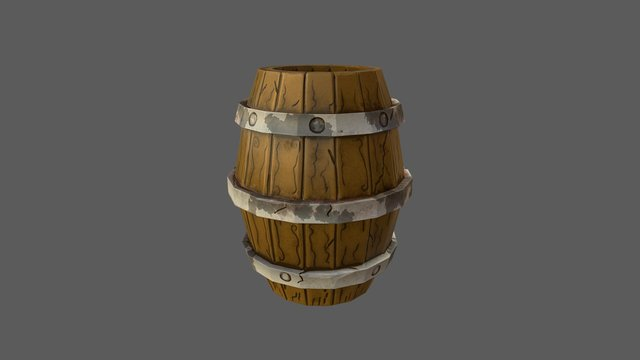 Barril Test Florida Replay 3D Model
