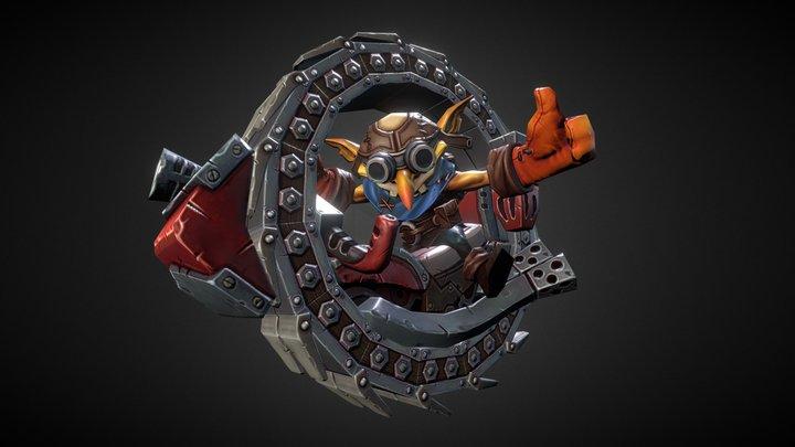 Mechanist Scotti the courier 3D Model