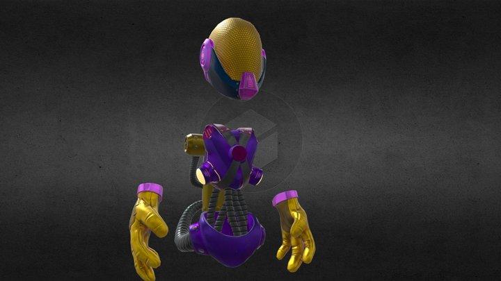 AstroRay 3D Model