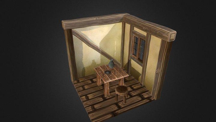 Room test WIP 3D Model