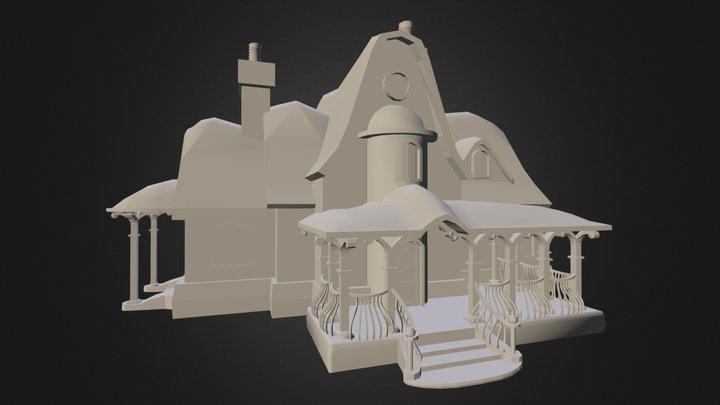 Christmas House (WIP) 3D Model