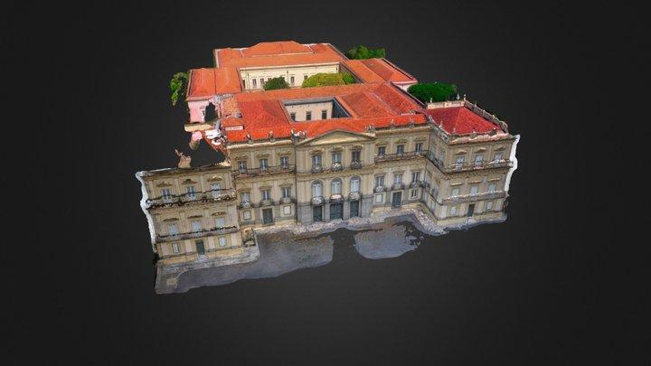 Museu Nacional Work in progress 3D Model