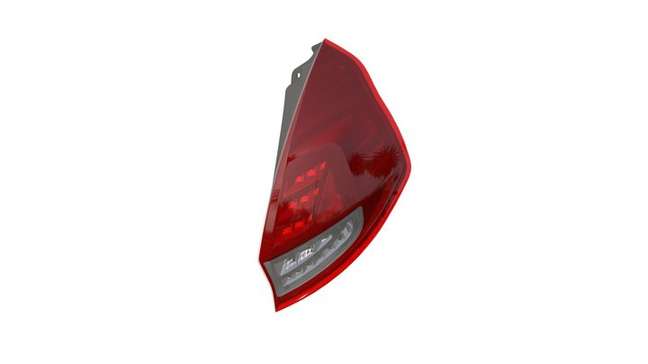OSRAM LEDriving tail lights for Ford Fiesta 3D Model