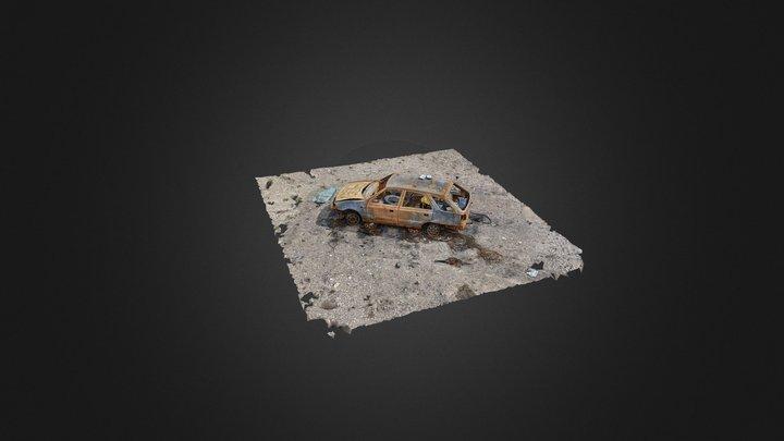RandomLab 020 Abandoned Wreck 3D Model