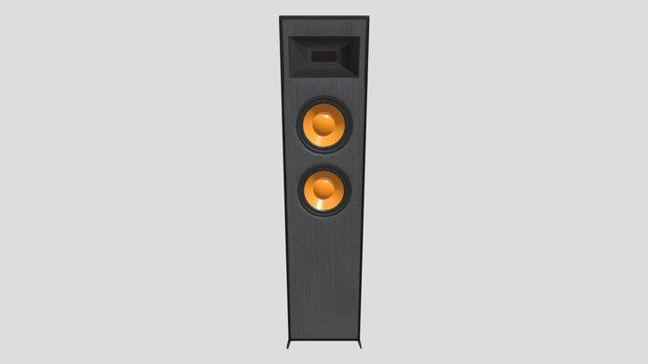 Floor Speaker 3D Model