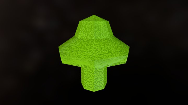 Hongo Para Zbrush N V1 3D Model