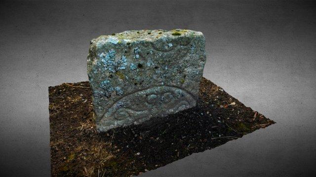Inverurie Kirkyard Pictish Stone 1 3D Model