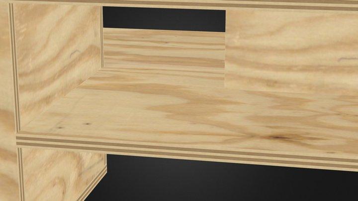 mesa de centro 3D Model