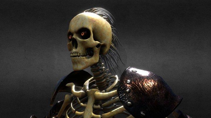 Skeletor 3D Model