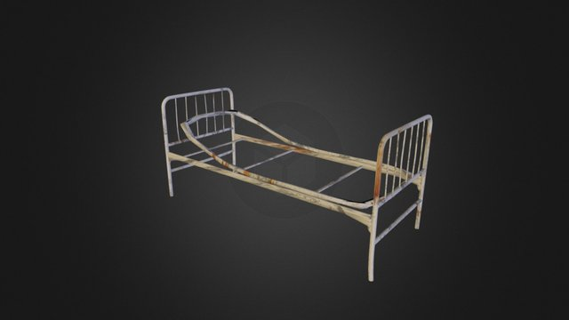 Hospital bed from PERTURBIA 3D Model