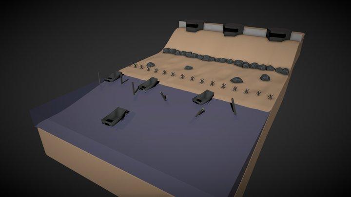 Mini D-DAY 3D Model
