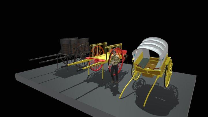 CARROS DEL MARESME 3D Model