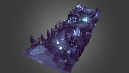 Crypt Location 3D Model