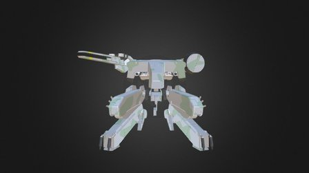 Metal Gear Rex 3D Model