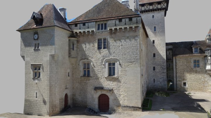 Château de Cléron 3D Model
