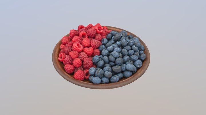 Sweet plate 3D Model