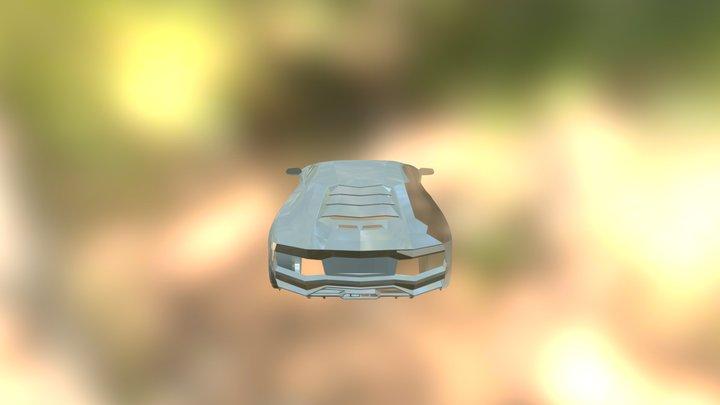 Aventador WIP 3D Model