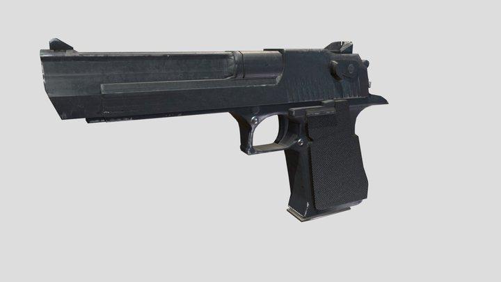 Desert Eagle 44 magnum mk7 3D Model