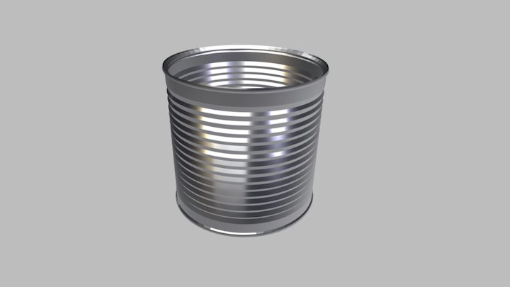 Food Tin Can - 3 Kg Diam. 155 3D Model