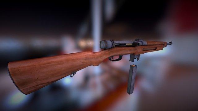 39m submachine gun 3D Model