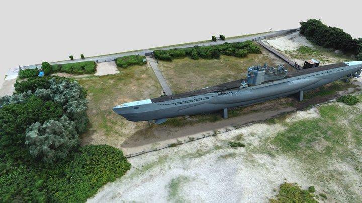 U-995 Laboe 3D Model