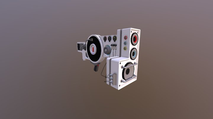 Dubstep Gun Classic 3D Model