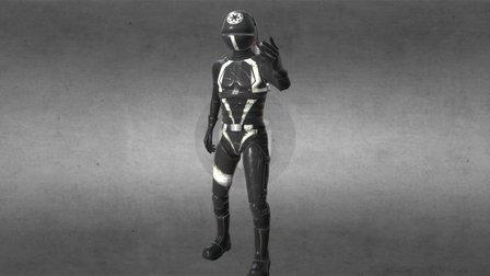 Death star trooper 3D Model
