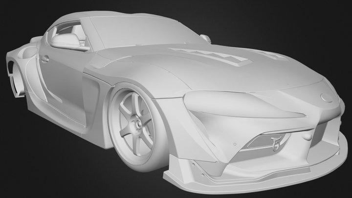 Toyota Supra A90 3D Model