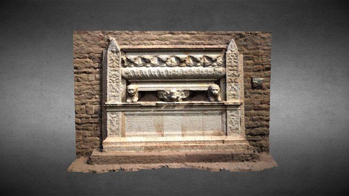 Panteó del comte Joan Ramon Folc I 3D Model