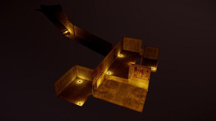 The tomb of Tutankhamen: 3d vr0.0 (v0-01) 3D Model