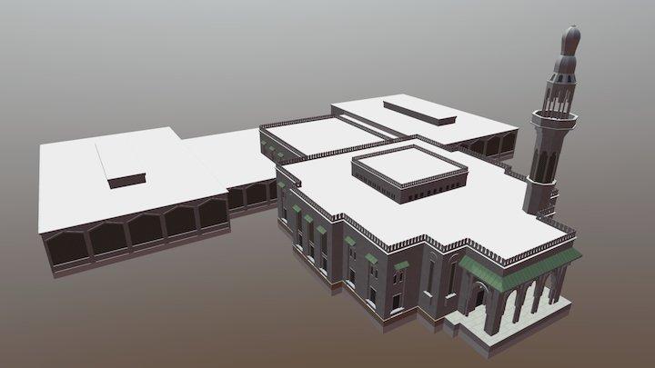Masaajidka Isbahaysiga, Mogadishu Central Mosque 3D Model