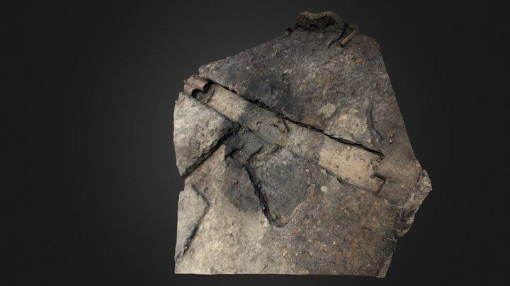 Bradford Kaims Wetland Site- Trench 6 3D Model