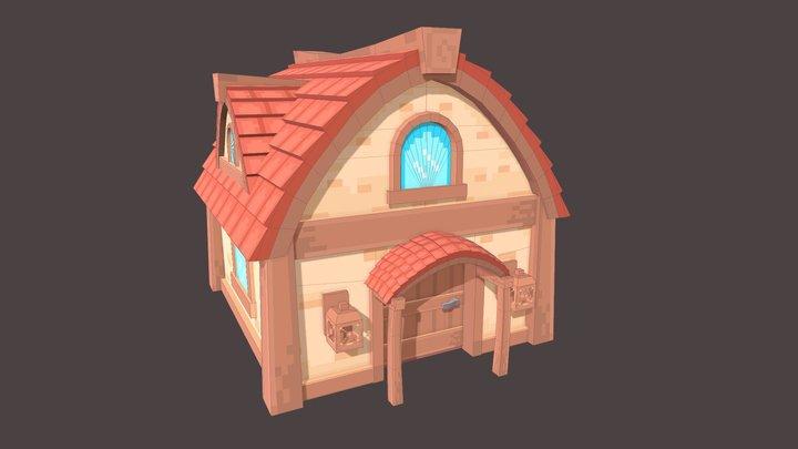 Momo's Starter Home 3D Model